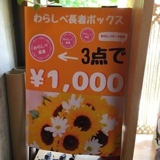 3点で1000円コーナーあります😆✨