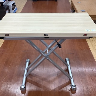 昇降式テーブルを紹介します!!トレジャーファクトリーつくば店