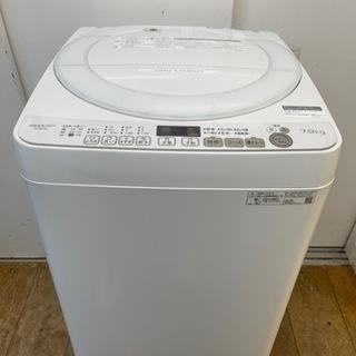 安心の1年保証★SHARP製★2020年製7㌔洗濯機★近隣…