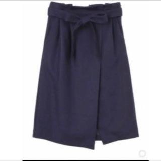 マーキュリーデュオ ウエストリボンタイトスカート