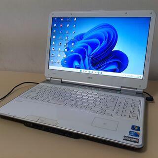 最新Windows11 ☆SSD+HDDのデュアルPC☆ NEC...