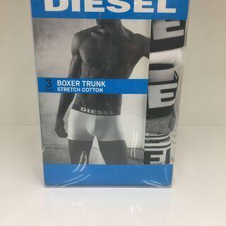 DIESEL ディーゼル メンズボクサーパンツ 3枚組 未使用品