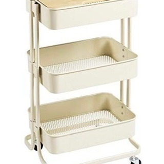 IKEA キッチンワゴン(天板付き)