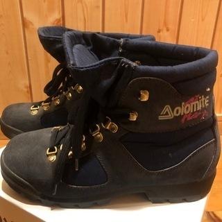 【ジャンク品】登山靴 Aolomite 靴底の剥がれあるた…