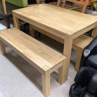 IKEA/イケア ダイニングテーブル 3点セット NA テーブル...