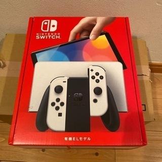 Nintendo Switch 新型 ホワイト 有機elモ…
