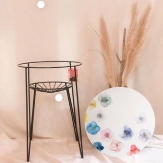【ネット決済】アルコールインクアートサイドテーブル ハイ型