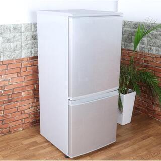 【中年式】SHARP シャープ 2ドア ノンフロン冷凍冷蔵…