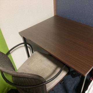 勉強机(椅子付き)