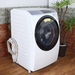 【美品/上代価格29.8万】ファミリー層 ドラム式洗濯乾燥機 洗...