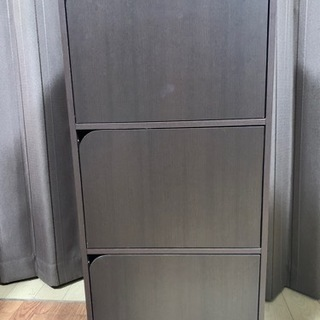 ニトリ 3段ボックス扉付き