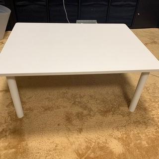 白ローテーブル