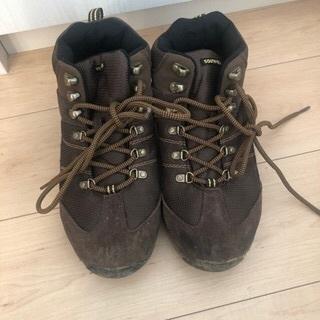 登山用の靴