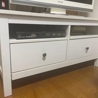 IKEA テレビ台(白) ※10/22までに引き取り希望