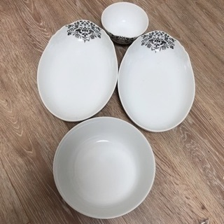 フランフラン 大皿小皿 カレー皿 ボウル