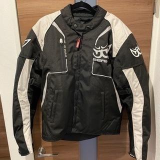 バイク用プロテクター付きジャケット