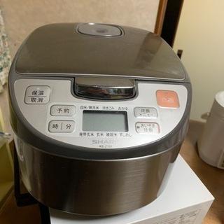 シャープ製炊飯器