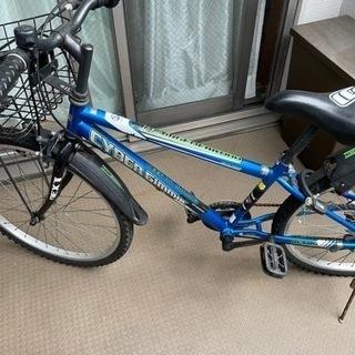 子供用自転車 22インチ 6段ギア