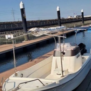【ネット決済】【船検約3年付き】 スズキ FF210 4スト 船...