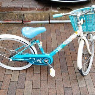 女の子 子供自転車 22インチ