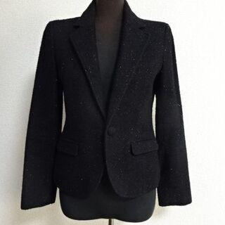 CECIL McBEE アンゴラ混の暖かくて華やかなジャケット