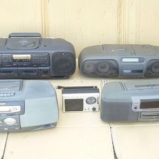 ■レトロ ラジオ 5台 ジャンク