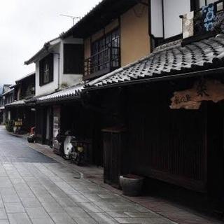 古民家(竹原、広島市)廃材 植栽 建具 古道具