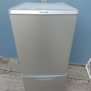 Panasonic 2ドア冷凍冷蔵庫 NR-B147W-S 2...