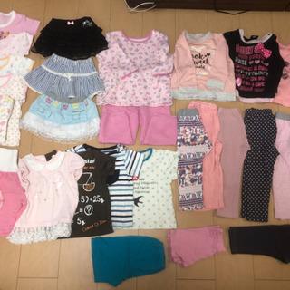 女の子服90(一部80)28枚ベビードール、コムサ、メゾピ…