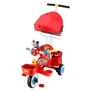 ディズニー ミッキーマウス 三輪車
