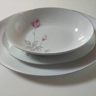 FINE SEYEI CHINA 食器 お皿 セーエー陶器 楕円...