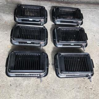 6台まとめて 山岡金属工業 高級焼肉器 LPガス用 Y-7…