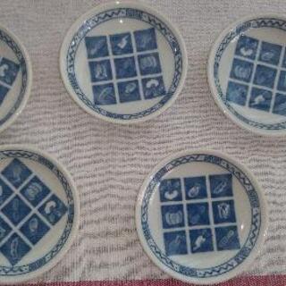 かわいい豆皿5枚セット 未使用品です。
