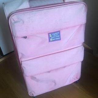 スーツケース二つ
