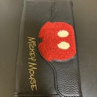 【11月処分】ミッキー 手帳型スマホケース