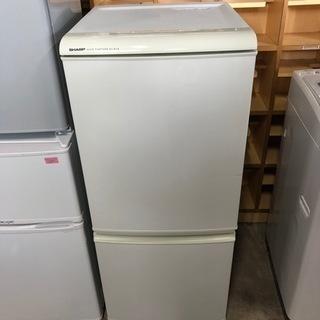 動作確認済 シャープ ノンフロン2ドア 冷凍冷蔵庫 135L 2...