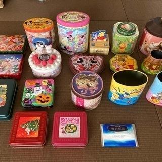 お菓子の空き缶★ディズニー、他