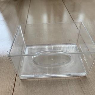 透明ポケットティッシュケース