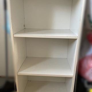 ボックス棚 3段 白色