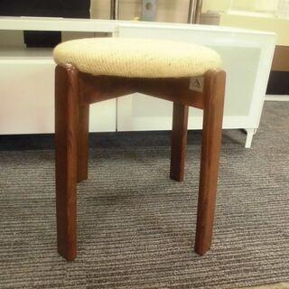 JM13114)fuzimaku スツール椅子 幅:約43cm ...
