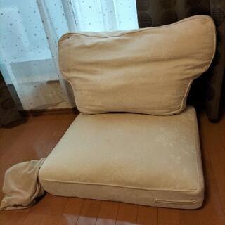 IKEAエークトルプ(シングル)ソファーのクッションのみ