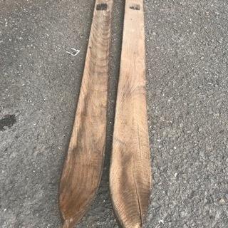 レトロスキー板、アンティークスキー板、金具スキー板、海軍航空隊スキー板
