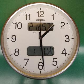 SEIKO掛け時計 (KX383S)