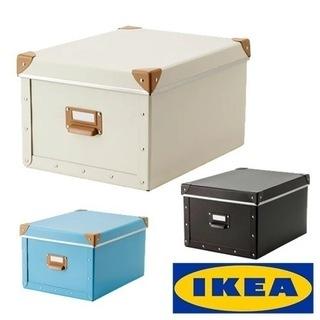 【新品未開封】IKEA 蓋付きBOX FJALLA