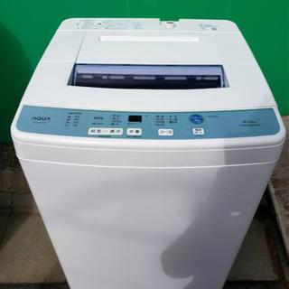 アクア 6キロ 2018年製 洗濯機 お譲りします