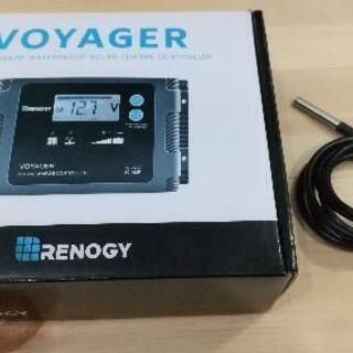 ソーラーパネル 充電コントローラー+バッテリー温度センサー