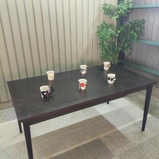 【IDC大塚家具】身長式ダイニングテーブル OT
