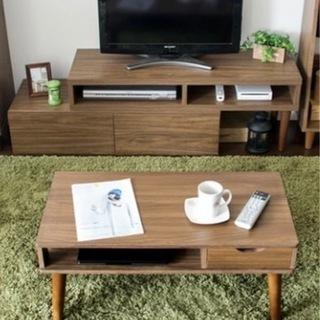 テレビ台とセンターテーブル