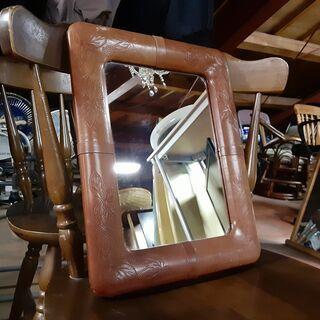 壁掛けミラー 鏡 アルビオン化粧品 /DJ-0752-2F南3