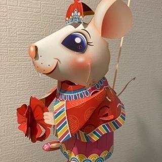 2020年台湾ランタンフェスティバル ネズミのペーパークラフト